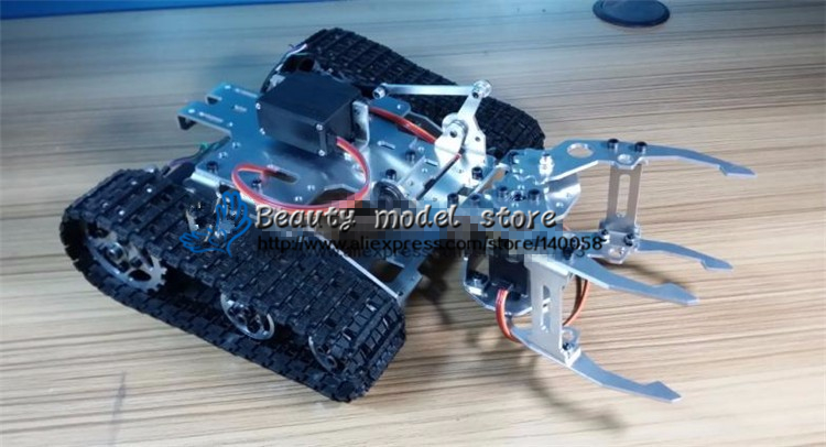 DIY Tracked Robot frame model Big Grapple tank-type robot rack Hall gun lonely robot lonely robot the big dream 2 lp cd