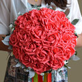 Custom Artificial Natural Wedding Flowers Handmade Bridal Bridesmaid Bouquets Alternative Keepsake Wedding Bouquet FW202