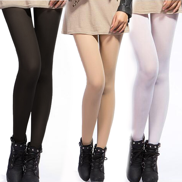 f16306ef011 2017 Hot Fashion Woman Velvet 100D Pantyhose Multi colour Tights Women For  Spring Autumn Winter