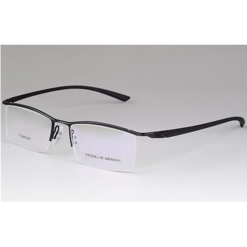 6f612c643b Titanium Brand New TR90 Flexible Men Women Half Rimless Eyeglass Frames  Glasses Optical Rx able Spectacles