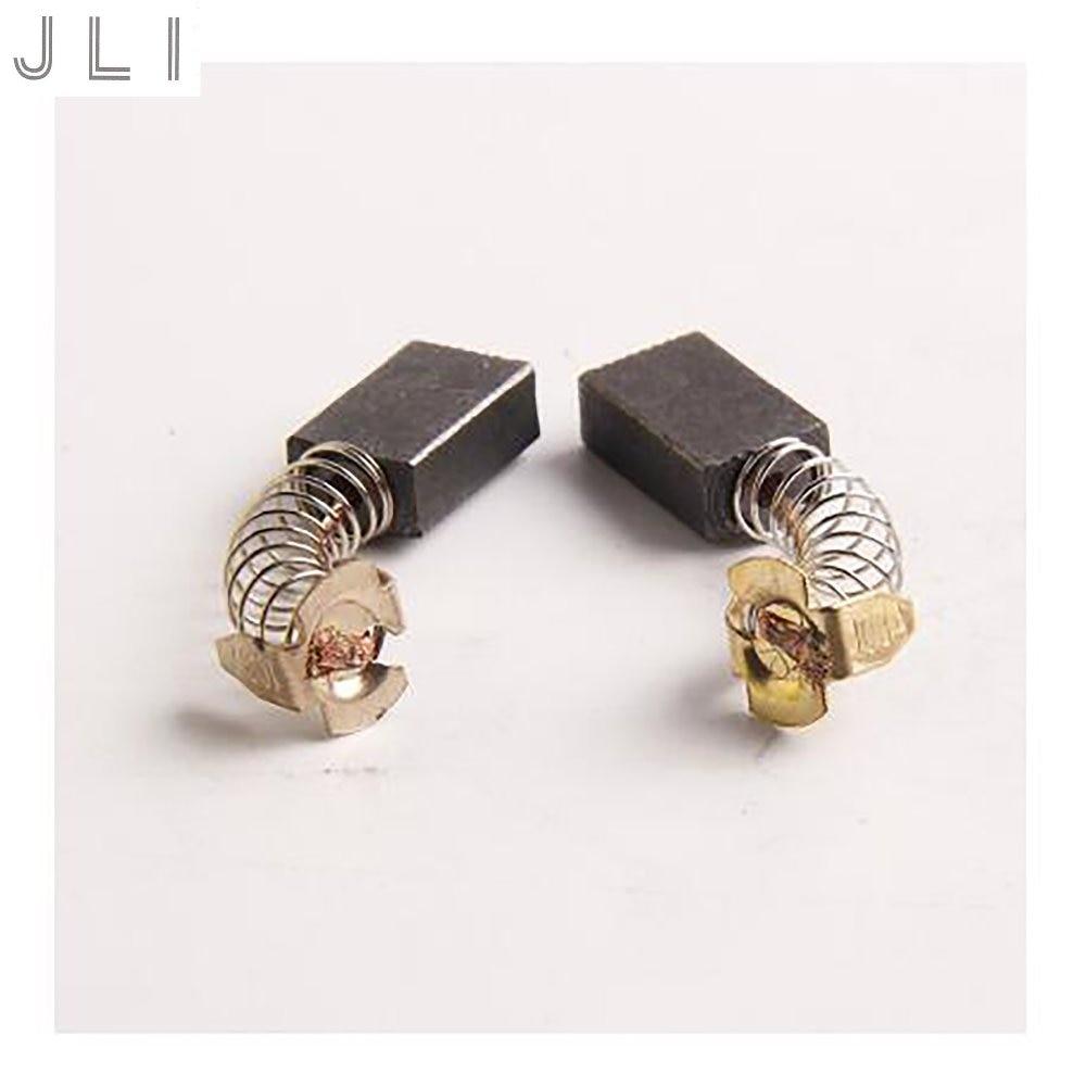JLI 20Pcs 6 * 10 * 15mm CB-103 Cepillos de carbono Martillo eléctrico de alta potencia Accesorios para herramientas eléctricas