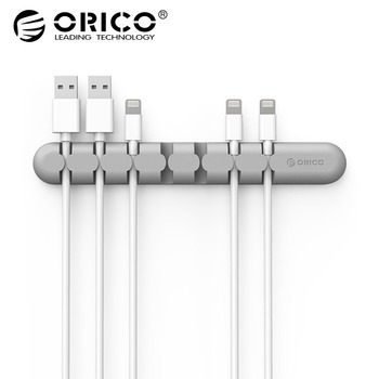 Cool Stuff ORICO CBS Cable Winder Earphone Cable Organizer Wire Storage Silicon Charger Cable Holder Clips for MP3 ,MP4 ,Mouse,Earphone