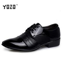 Men's Dress Shoes Oxfords Shoes For Men Fashion Bullock Derby Brogue Shoes Men Flat Casual Brand Shoes Zapatos Hombre