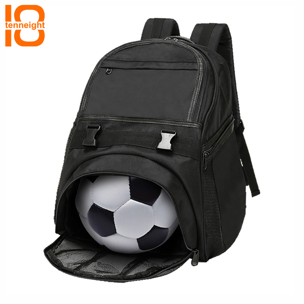 Humorous Tenneight Youth Soccer Basketball Backpack Outdoor Men's Sports Shoes T-ball Softball Equipment Backpack Training Bag For Kid Profit Small