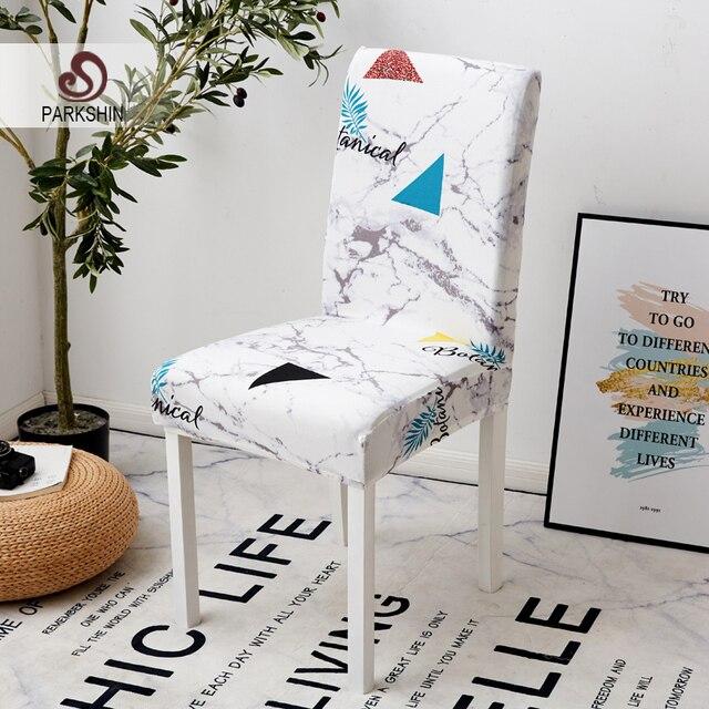 Parkshin מודרני כיסא אלסטי כיסוי מושב כיסא מכסה ציור כיסויים מסעדה משתה מלון עיצוב הבית עבור אירועים