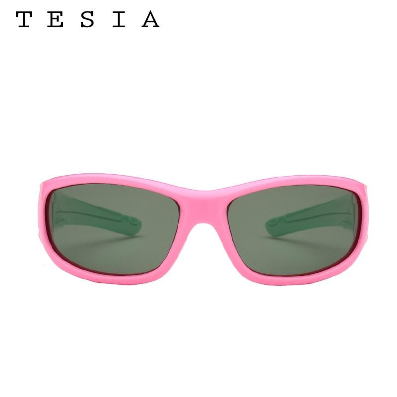 TESIA Niños polarizados Gafas de sol Niños Silicona Flexible - Accesorios para la ropa - foto 2