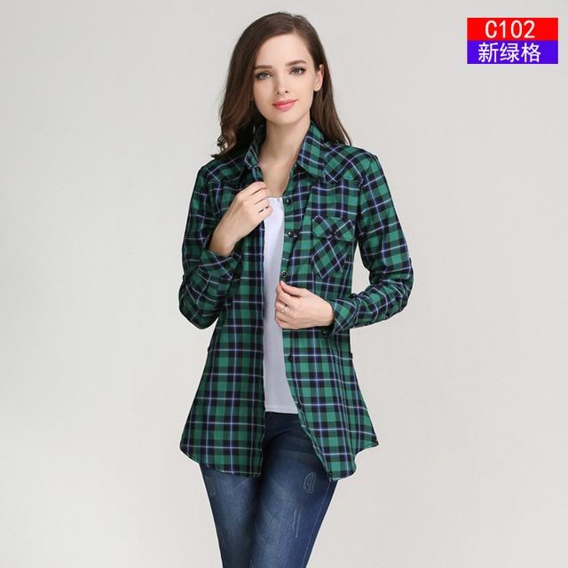 Կանացի վերնաշապիկների նոր տաք վաճառք - Կանացի հագուստ - Լուսանկար 5