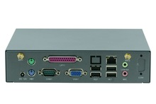 mini pc industrial computer embedded with Intel 1037U J1900 CPU/ WIFI/3G /VGA /LPT/COM linux WindowsXP/7 thin client