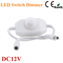 Dimmer регулировка яркость одного диммер полосы контроллер dc света светодиодный светодиодные