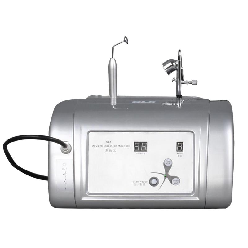 Machine de soin de peau de blanchiment de peau d'injection d'oxygène d'opération facile
