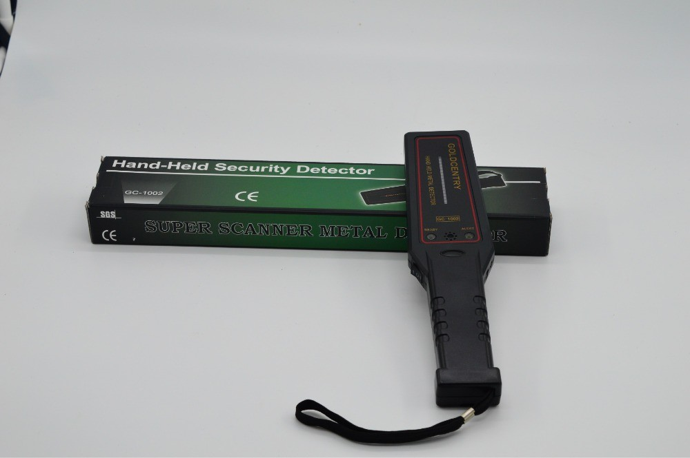 Portable Metal Detector Professional Mini GC1002 Handheld Metal Detector Super Scanner Superscanner with Vibrator