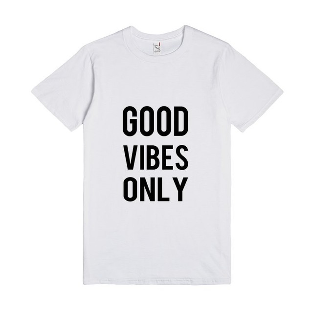 5e5fc39ba Good Vibes Only TEE Funny Tumblr Saying Shirt women summer Cotton T-Shirt  Casual Short Sleeve tee top Camisetas