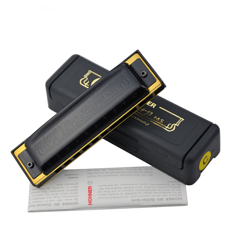 Genuine imported from Germany Hohner harmonica folk classic 10-hole harmonica   free  shipping