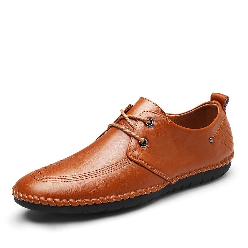 Mão À Casuais Dourado ouro Genuíno Couro Dxkzmcm Brown Feitos Luxo Masculinos De Dos Homens red Preto Sapatos Preguiçosos 6ZZwYxz84q