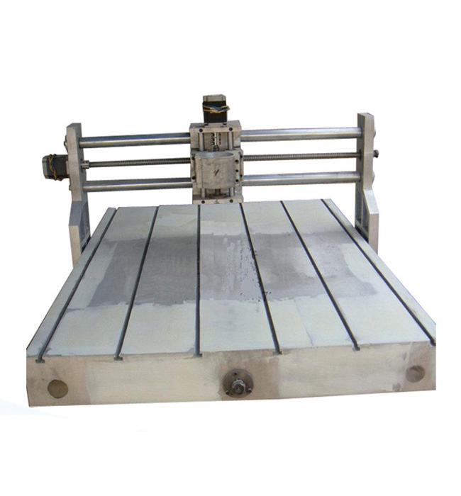 Professional CNC 6090 Casting Frame kit, with lathe bed, ball screw, bearing, stepper motor and coupler