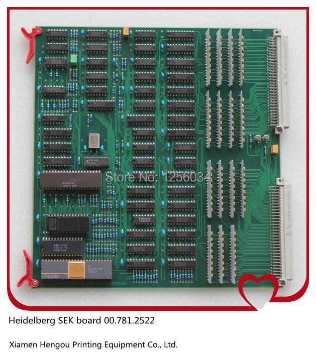 FREE SHIPPING 1 piece Heidelberg SEK board 00.781.2522, SEK1, SEK-1 00.781.2522/01