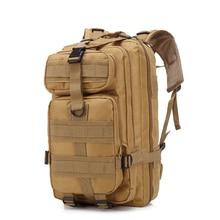 Men's Military Tactical Backpack Waterproof Oxford Hiking Camping Backpacks Outdoor Wear-resisting Bag Camouflage Climbing Bag недорого