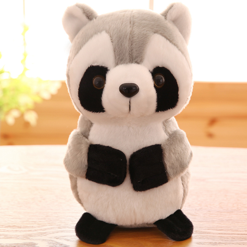 Stuffed animals plush soft kawaii have love Creative small raccoon plush toy doll children's gift doll girlfriend gift 22cm/27cm