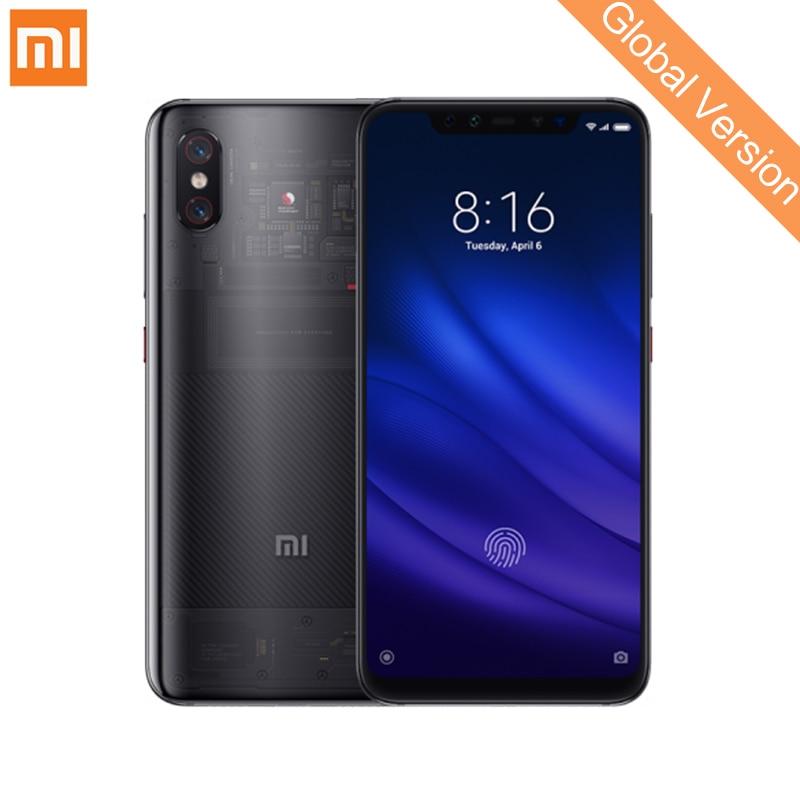 Version mondiale Xiao mi mi 8 Pro 8 GB 128 GB téléphone Mobile Snapdragon 845 Octa Core 2248x1080 FHD double fréquence GPS AI double caméra