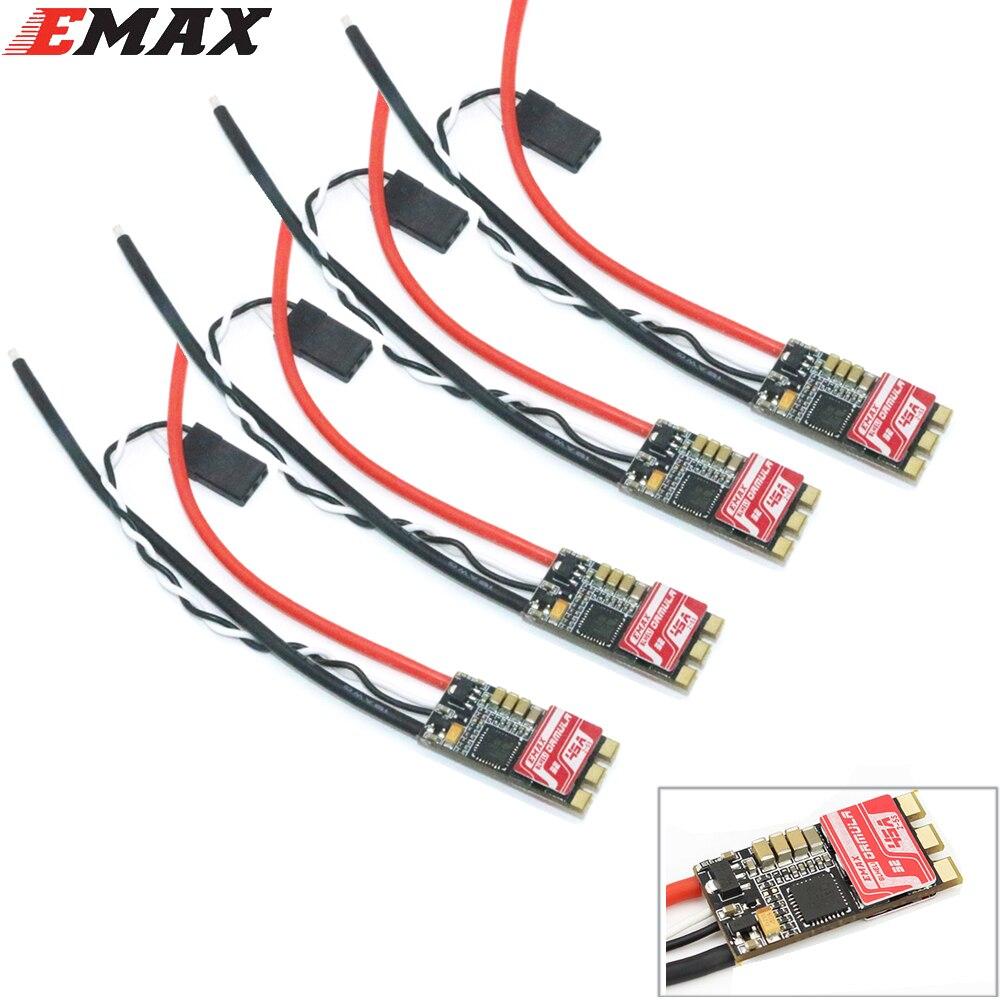4 unids/lote Emax fórmula 45A Blheli_32 2-5 s sin escobillas Esc para RC quadcopter multicopter