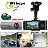 Dual Lens Car DVR Dash Camera with Camcorder 140 Degree Wide Angle 2.7inch Cam Video Digital Recorder