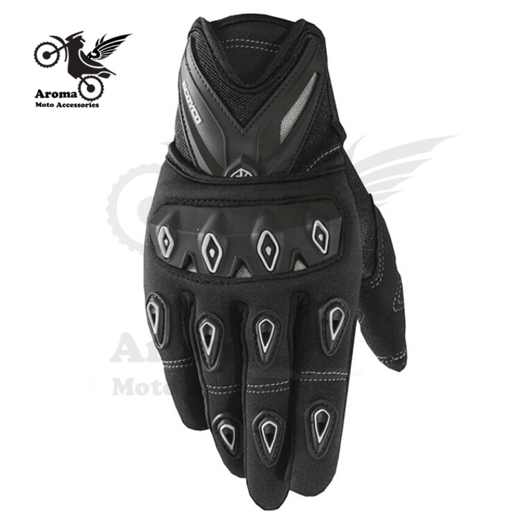 3 colors Pro-biker motorcycle <font><b>gloves</b></font> waterproof full finger <font><b>gloves</b></font> motorbike winter universal motocross ATV racing sports white