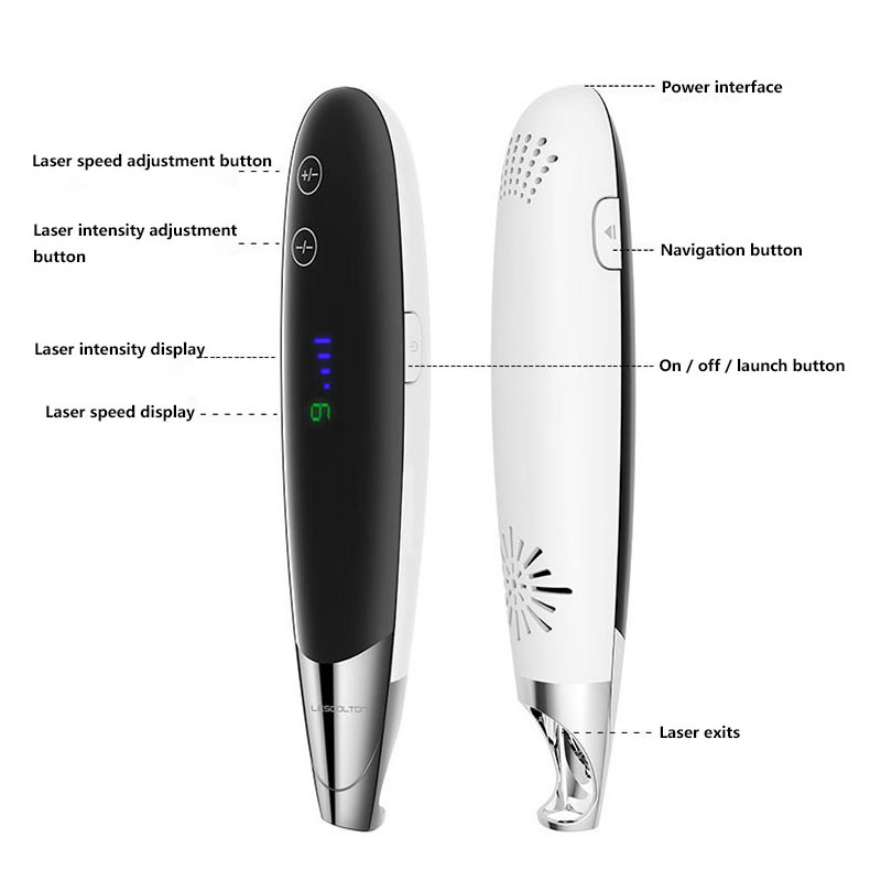 Image 5 - Pro Picosecond Laser Pen with touch screen Freckle Tattoo Removal Mole Dark Spot Eyebrow Pigment Laser Acne Treatment 9 level-in Powered Facial Cleansing Devices from Home Appliances