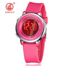 OHSEN Kids Watches Children Digital LED Fashion Sports Watch Cute boys girls Waterproof Wrist watches Gift Watch Alarm Men Clock ohsen kids watches children digital led fashion sports watch cute boys girls waterproof wrist watches gift watch alarm men clock
