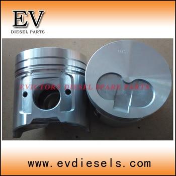 piston kit for Komatsu FD20 forklift engine 4D94E piston with piston ring
