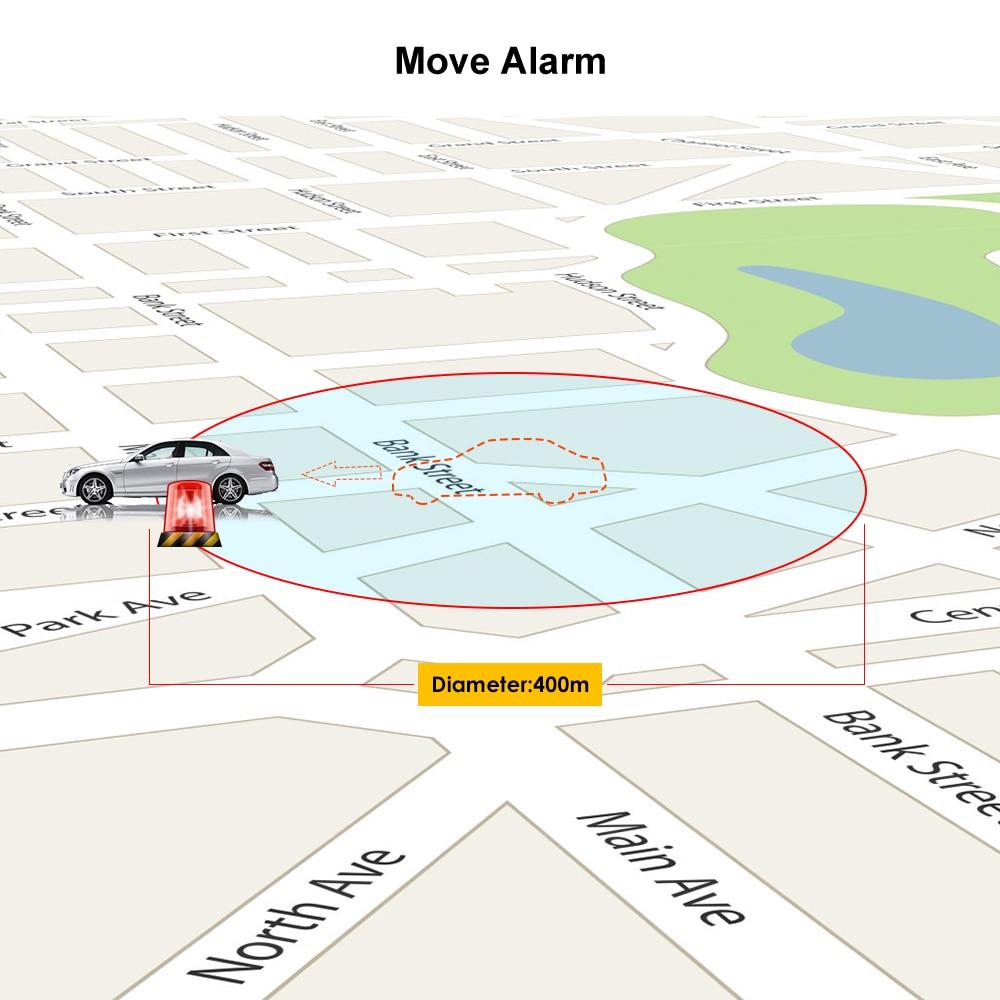 Mini Car Tracker Vehicle GPS Tracker TK108 2G GSM Tracker Cut Off Oil Power Vibration Alarm Relay Tracker Waterproof PK TK905 5