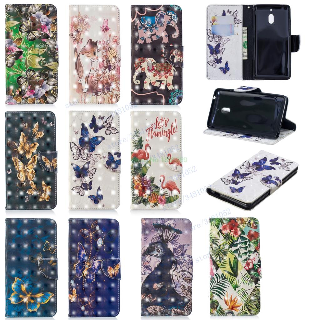 Flip Wallet Case for Huawei <font><b>Honor</b></font> <font><b>7A</b></font> 5.45'' <font><b>DUA</b></font> <font><b>L22</b></font> LX2 Cases for Huawei <font><b>Honor</b></font> A7 <font><b>DUA</b></font>-<font><b>L22</b></font> <font><b>DUA</b></font>-LX2 <font><b>3D</b></font> Painted Leather Phone Cover image