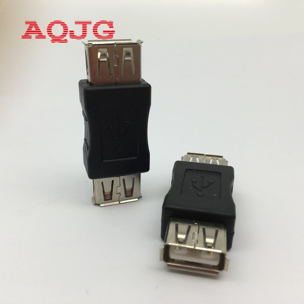 10pcs F/M Changer Adapter Converter USB Female to Female USB 2.0 Type A Female to A Female Coupler Adapter Connector  AQJG hightek hu 03 universal usb to rs485 422 converter adapter