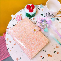 Yiwi Sequins Series Binder Notebook Spiral A6 Planner Dokibook Notebooks And Journals Personal Diary Creative Stationery