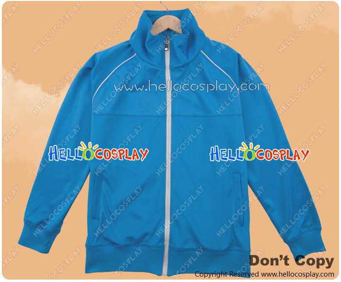 Silver Spoon Cosplay Oezo Agricultural High School Equestrian Department Blue Sportswear Jacket Costume H008