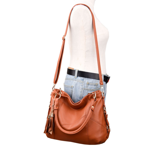 Designer Bag Retro Tote Shoulder Bags For Women | Luxury Leather Handbags