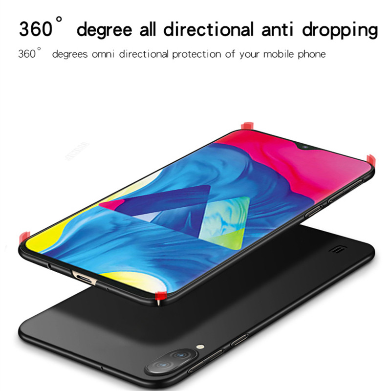 Image 4 - For Samsung Galaxy M10 Case Silm Luxury Ultra Thin Smooth Hard PC Phone Case For Samsung Galaxy M10 Cover For Samsung M10 Fundas-in Fitted Cases from Cellphones & Telecommunications