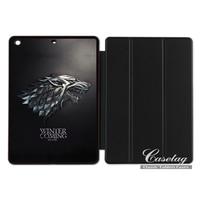 Gioco Di Casa Stark Throna Divertente Folio Caso Astuto Della Copertura Per Apple iPad 2 3 4 Mini Air 1 Pro 9.7 10.5 12.9 New 2017 a1822