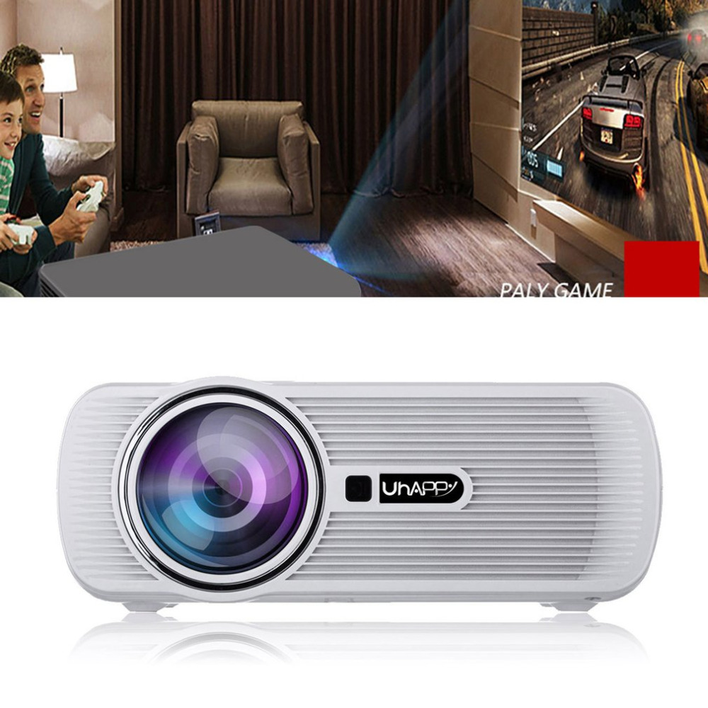 HD 1080P LED Mini Portable Projector Multimedia Home Theater Vivid Movies Cinema Multifunctional Interface Picture Video AudioHD 1080P LED Mini Portable Projector Multimedia Home Theater Vivid Movies Cinema Multifunctional Interface Picture Video Audio