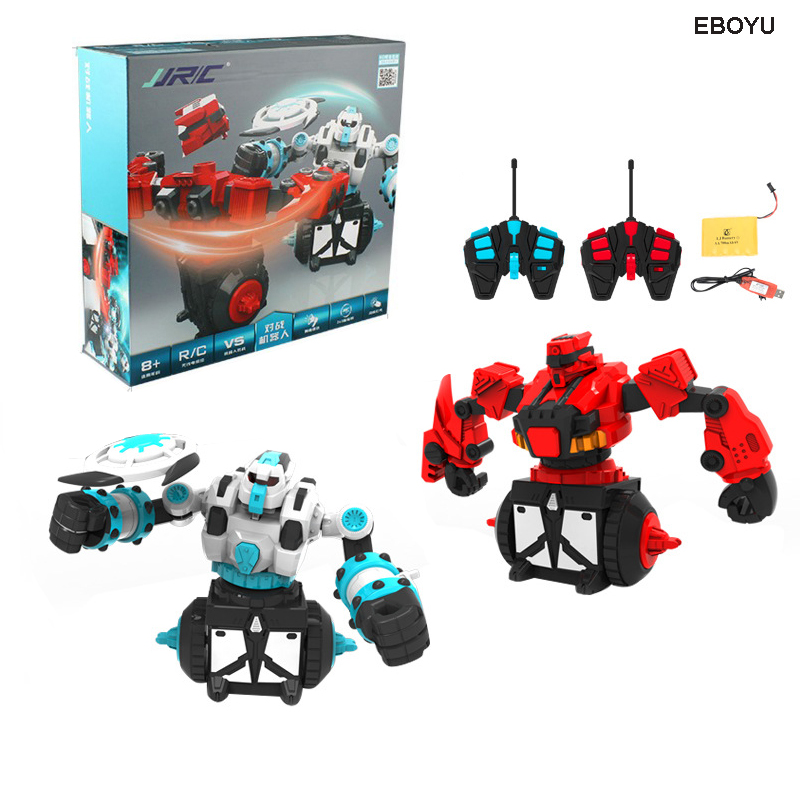JJRC 333 VS07 RC Battle Robot Remote Control Battle Boxing and Fighting Robots 2pcs Robots Included