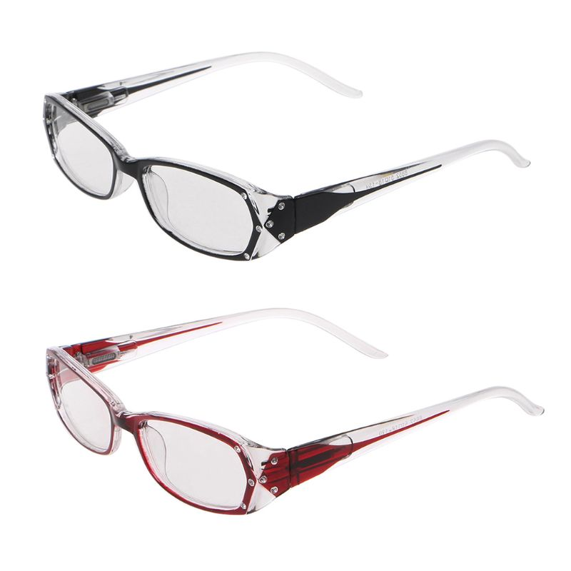 2019 New Fashion Reading Glasses Women Lady Inlaid Rhinestone Glasses Diopter +1.0 +1.5 +2.0 +2.5 +3.0 +3.5 +4.0