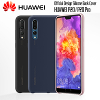 100 Official Huawei P20 Pro Case Original Liquid State Silicone Case HUAWEI P20 Case Soft TPU