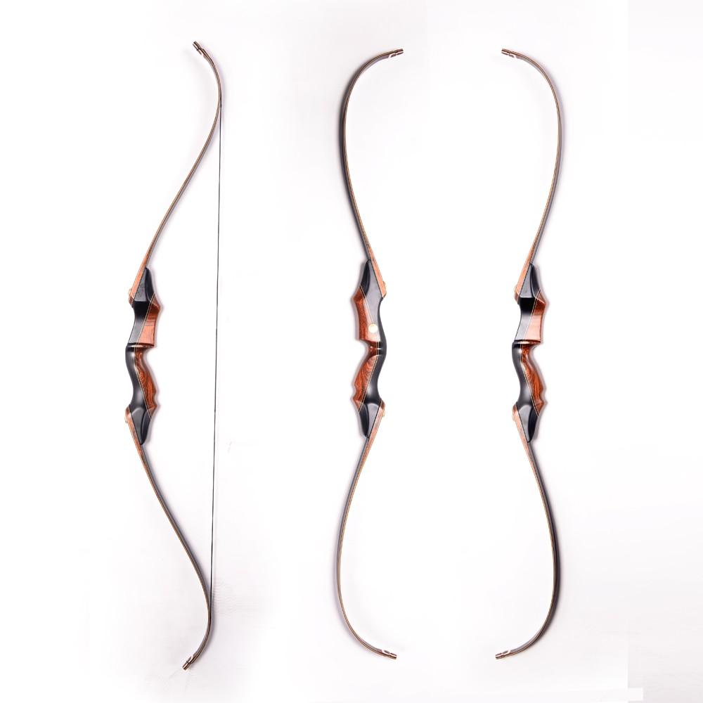 Демонтаж черного дерева китайский изогнутый лук стрельба из лука лук для стрельбы и охоты
