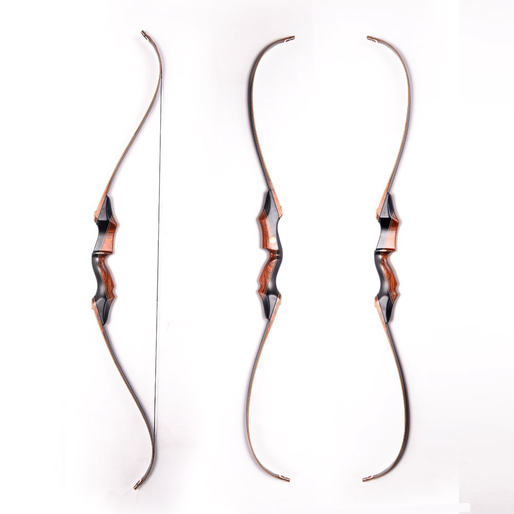 Traditional Takedown Black Wooden Chinese Recurve Archery Bow for Shooting and Hunting wholesale archery equipment hunting carbon arrow 31 400 spine for takedown bow targeting 50pcs