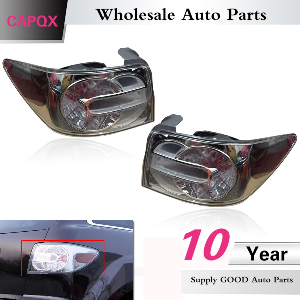 CAPQX For Mazda CX7 CX 7 2008 2011 Rear Brake Light Tail