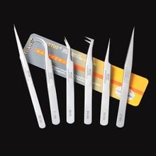 VETUS SA Series Stainless Steel Hyperfine High Precision Antimagnetic Anti Acid Tweezers Pro Tool for Eyelash Extension