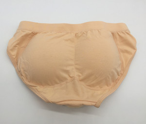 Image 4 - Crossdresser Perfect Push Up Heupen Kameel Teen Gaff Panty Zakken Padded Slips Shemale Nep Vagina Spons Gewatteerde Slipje