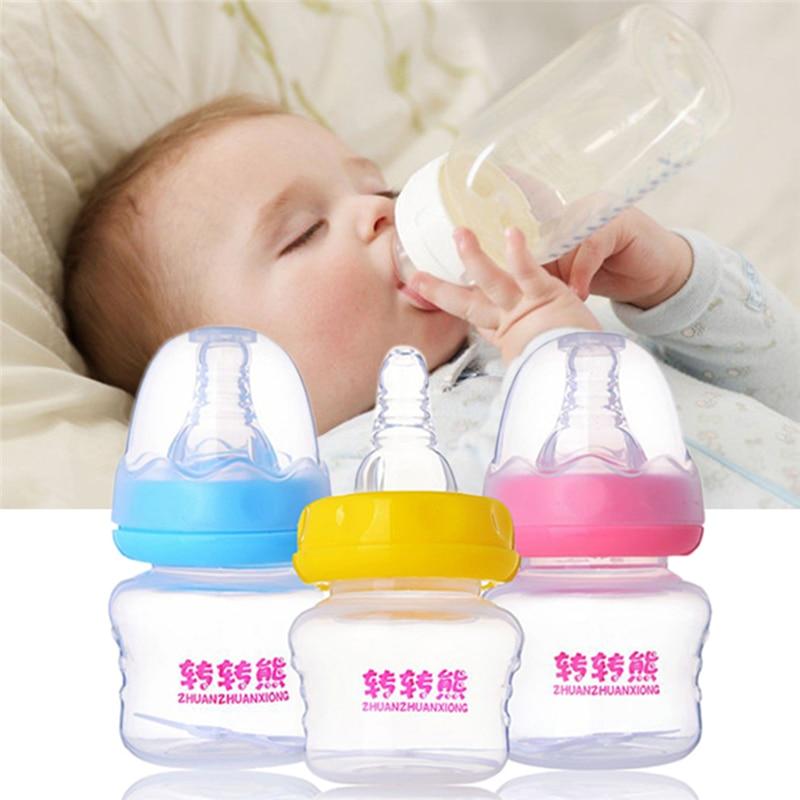 60 ML Mini Baby biberon BPA Free Safe Mamadeira Succo di latte Feeder Biberones Bebes Baby Feeding Cup Spedizione Gratuita 3Colors