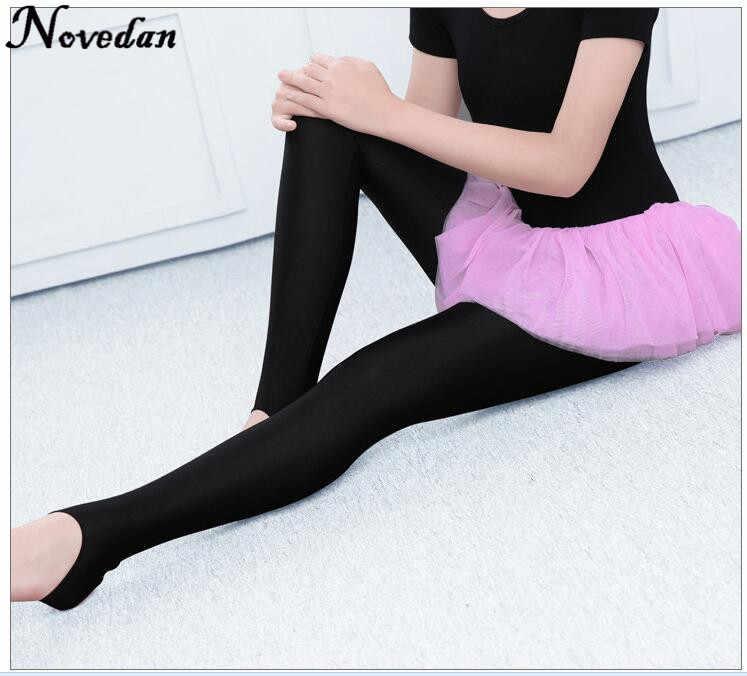 99311eb092170 ... Child Kids Girls Stirrup Ballet Dance Tights Socks Gymnastics Practice  Pantyhose Fitness Pants Dance Clothes Legging ...