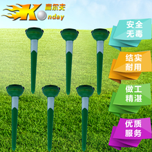 Retail High Quality Flogs Cartoon golf Tee Divot Tools Brand ABS Golf Pommel Tees Golf Practice Accessory