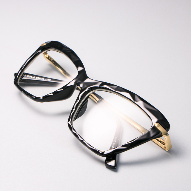 Diamond style Square Glasses Frames